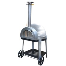Large Professional Stainless Steel Outdoor Wood Fired Pizza Oven