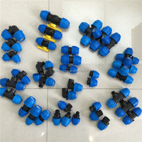 Quick connect pipe fitting plastic water pipe fitting compression fitting