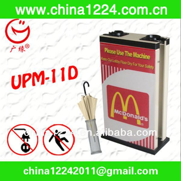 2014 New innovative products Wet umbrella wrapping machine umbrella bags dispenser manufacturers