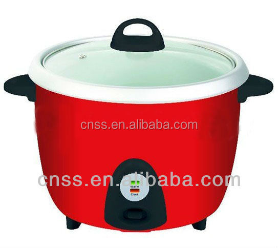 Electric mini rice cooker with CE/GS/glass lid