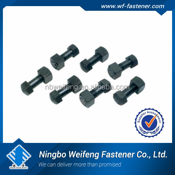 China Excavator Track Shoe Bolts and Nuts for sales,track bolt