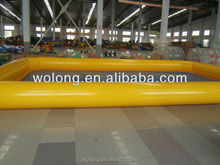 play giant inflatable pool for adult and kids swimming