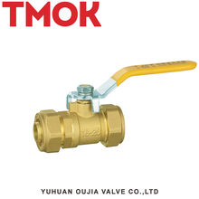 rubber ball inflation tank float brass color long handle brass life lever shut-off 4 inch brass ball valve