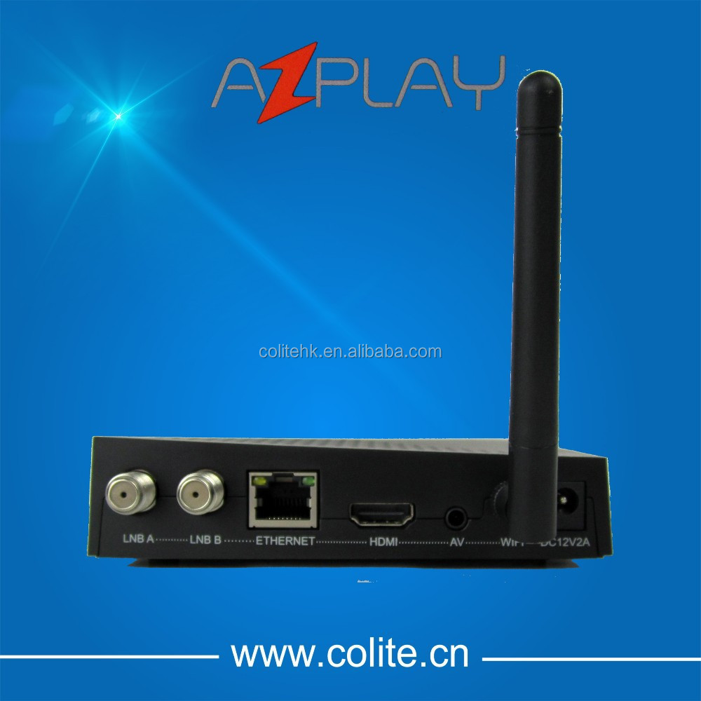 AZPLAY IKS SKS CS IPTV WIFI Satellite TV Receiver Nagra 3 Decoder