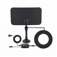 2019 new arrival 50 milesf high gain RV signal booster indoor digital antenna hdtv
