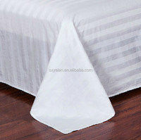 hotel 100%cotton bed sheet factory /fitted sheet munufacturer