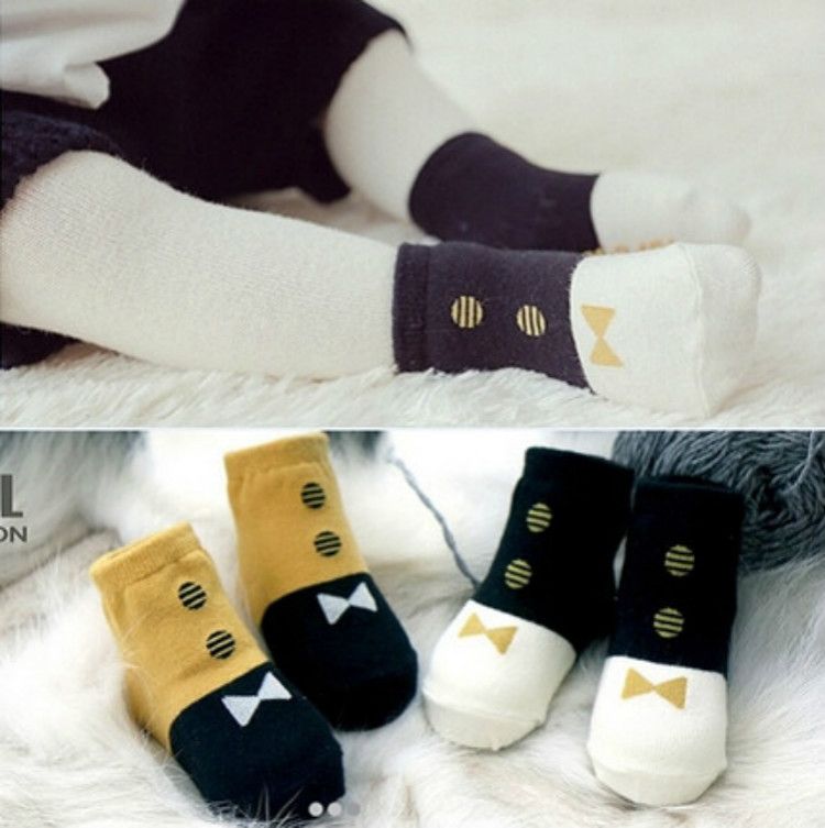 S64280A New design Korean fashion baby ankle sock