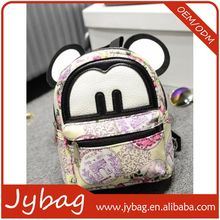 China good supplier high-ranking cute cartoon figure back pack for kids