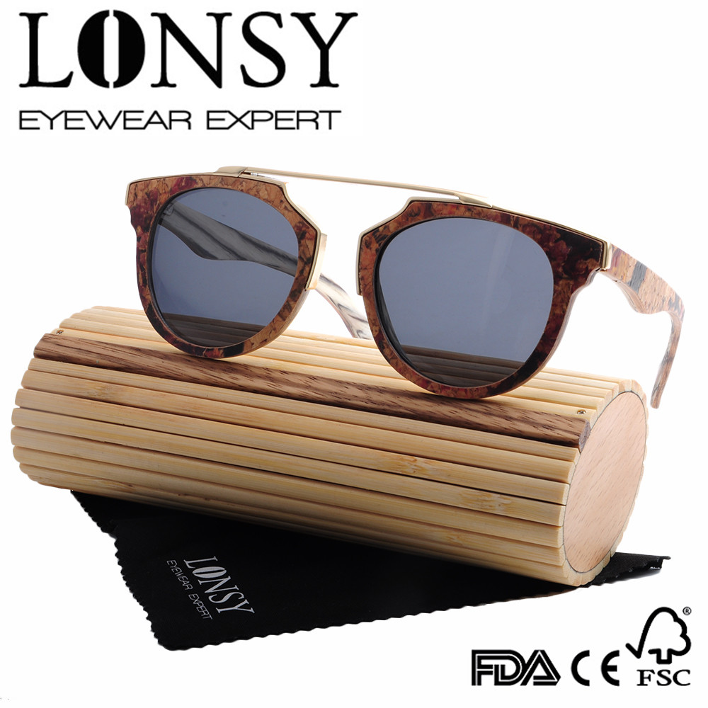 Cork wood frame sunglasses, soft wood custom make frame