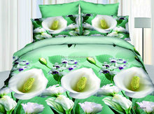 Wholesale 3d Design 6pc Bed Sheet Set With Pillowcase