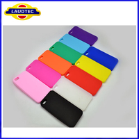 Laudtec Hot Selling Colorful Silicne Soft Phone Case For Apple Iphone 5S