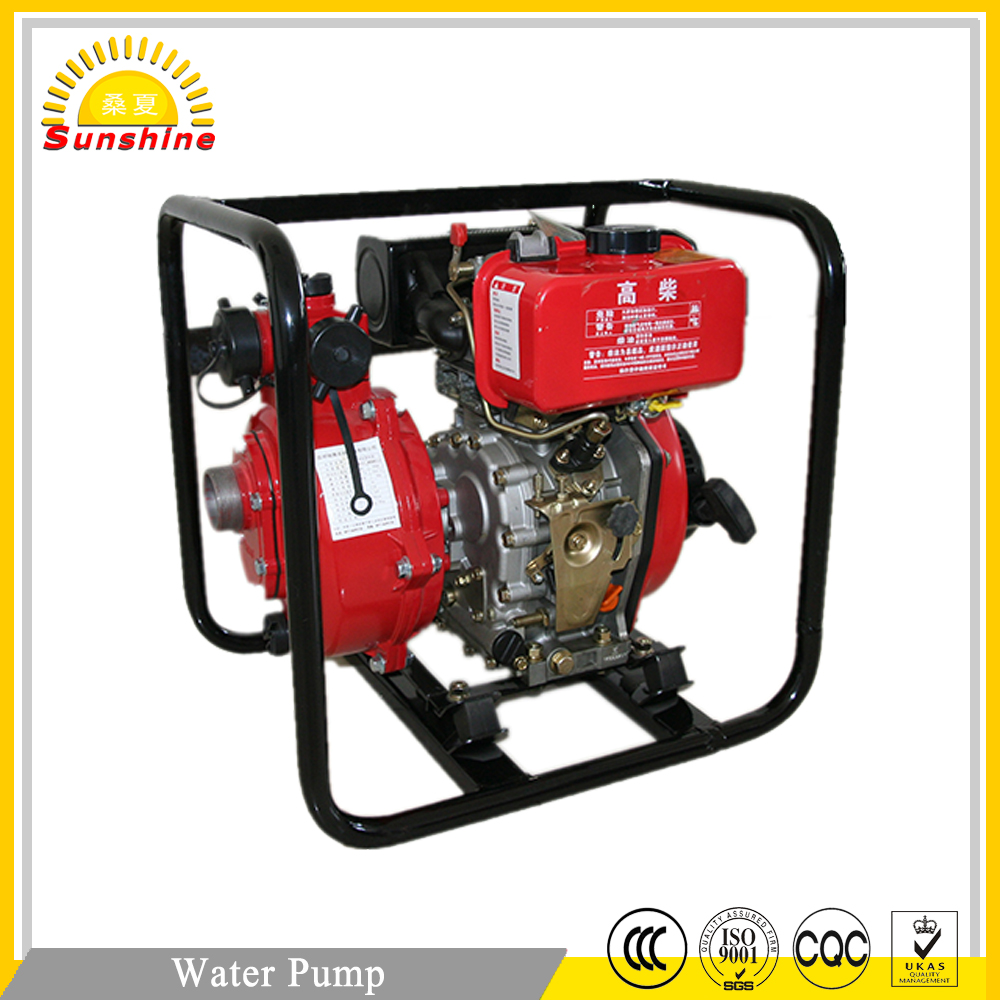 high pressure diesel engine single-stage high lift self-priming water pump