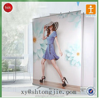TJ--XY-573 FACTORY PRICE Outdoor Over Folding Pop Up Banner Stand