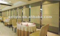 sliding door folding doors movable partition for hotel/ conference room/ library/ gymnasium/ banquet hall/ museum/ exhibition