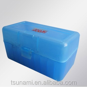 ammunition manufacturers 50 Round Indestructible portable ammo case plastic ammunition case for 9mm ammo (TB-908)