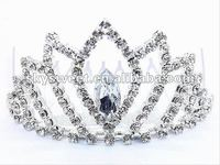 Fashion pageant wedding crown,big pageant crowns