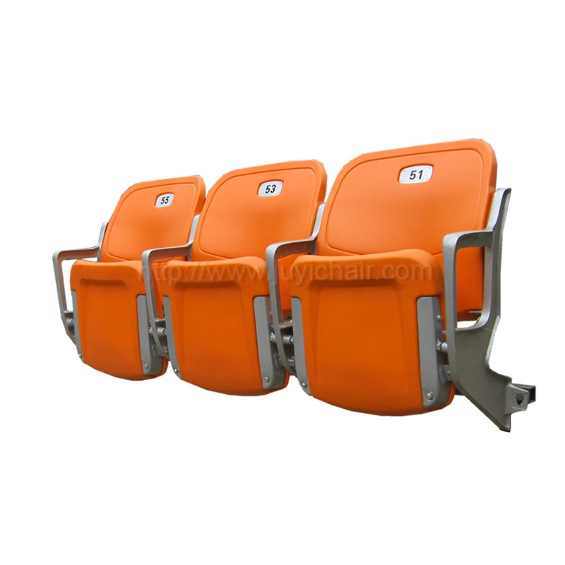 BLM-4352 Outdoor Fixed Seating Stadium Chair Suspension Type Stadium Seat