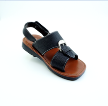 boy leather pu sandals kids leather Arabic sandals PVC sole handmade pu sandals China