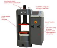 YF 2000KN Digital Display Hydraulic Compression Testing Machine
