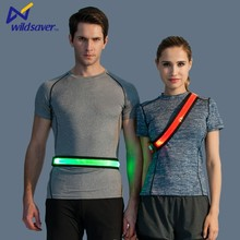 Waterproof sports running band LED waist belt