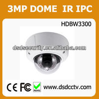 1080P Realtime Full HD Dahua 3MP Vandal-proof Network Webcam with Remote Control