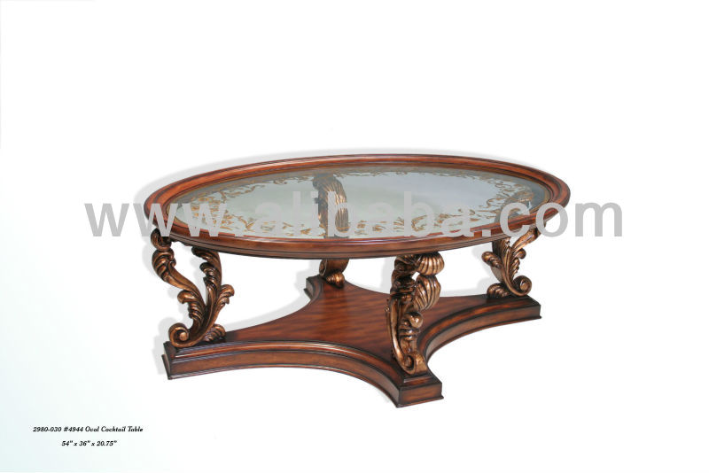 Oval Cocktail Table 2980-030 #4944