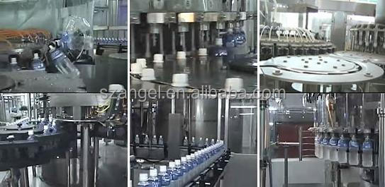 1600BPH Semiautomatic Pure Water Bottling Line