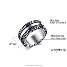 Inexpensive high-quality China factory direct wholesale wedled noble steel ring