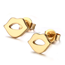 Stud For Girl Cute In Bulk Stainless Steel Wholesale China Jewelry Factory Lip Earring