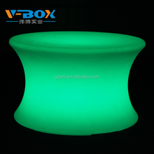 Outdoor 16 Colors changing light Led lighting glow&bar and lounge furniture