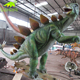 KANOSAUR4246 Indoor Playground Natural Looking Life Size Rubber Dinosaur Statue