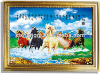 Horses 3D Decorative Wall Picture Paintings