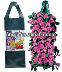 Garden hanging planter grow bag for wall