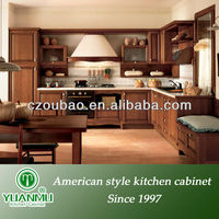 Modern ready made kitchen cabinets made in China
