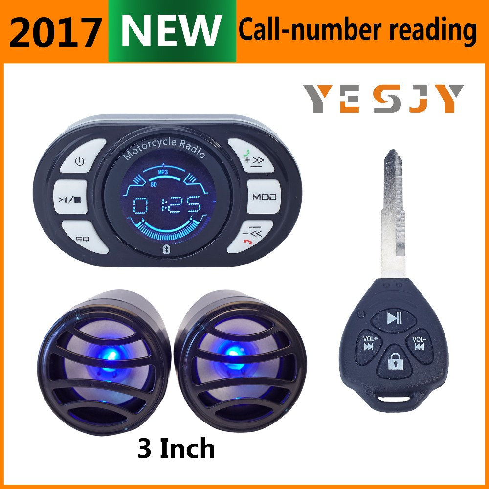 accessories motorcycle mp3 audio alarm system
