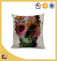 Ghost Boo Throw Pillow Case With Zipper Halloween Cover Cushion Home Decorations
