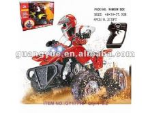 red mini remote control motorcycle