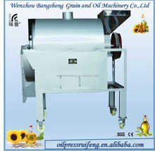 Professional rolling caldron groundnut roaster machine / soybean roasting machine