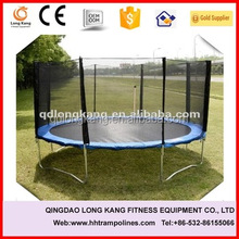 2015 Outdoor Fitness equipment Mini bungee Trampoline bed with Safety Net