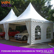 High quality aluminum alloy or iron prefab wooden carport