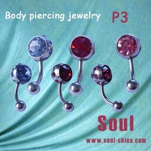 2014 New design tongue piercing jewelry