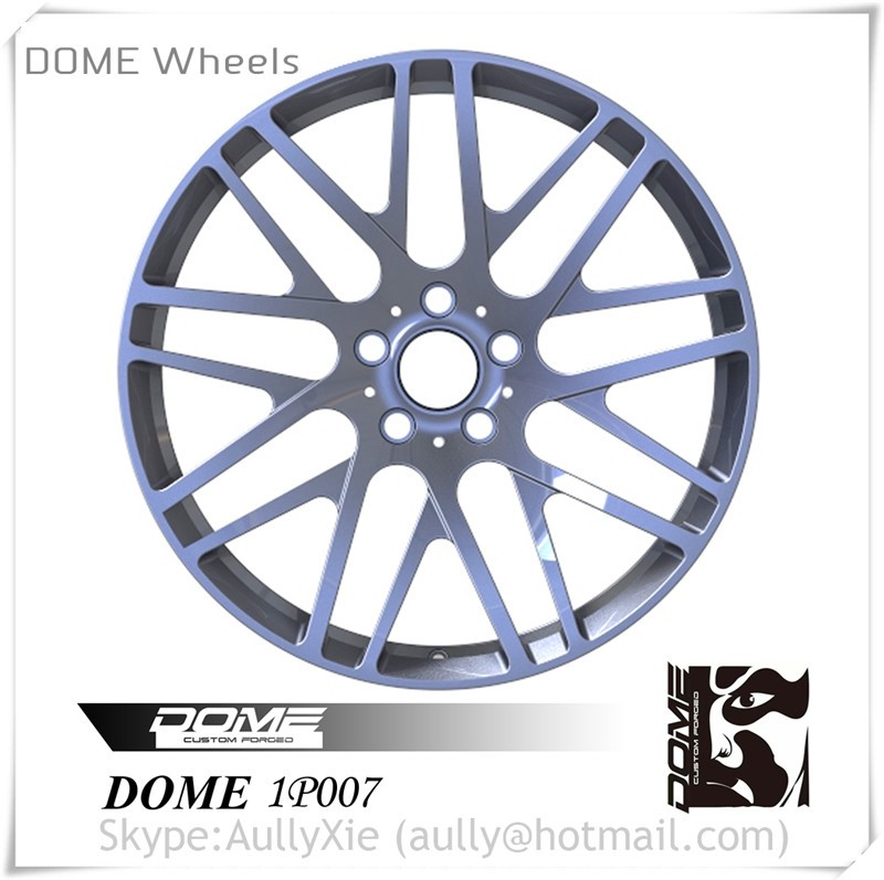 Hot Selling Car Alloy Wheels, Top Deign Forged Auto Aluminum Alloy Wheel Rims DOME 1P007