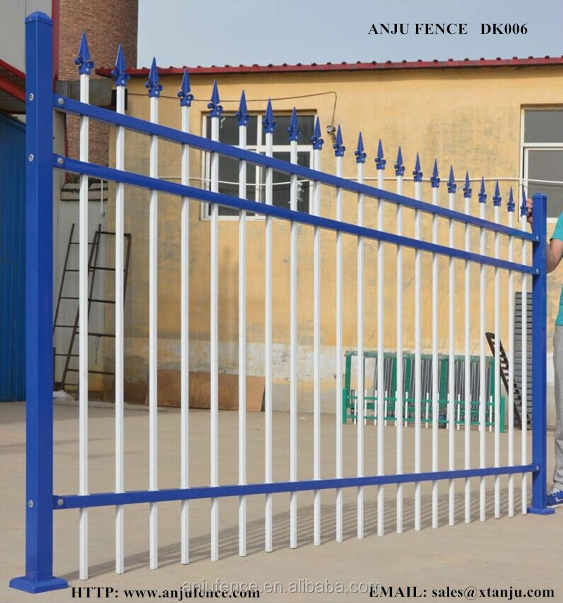 New type of modular metal fence for backyard DK006