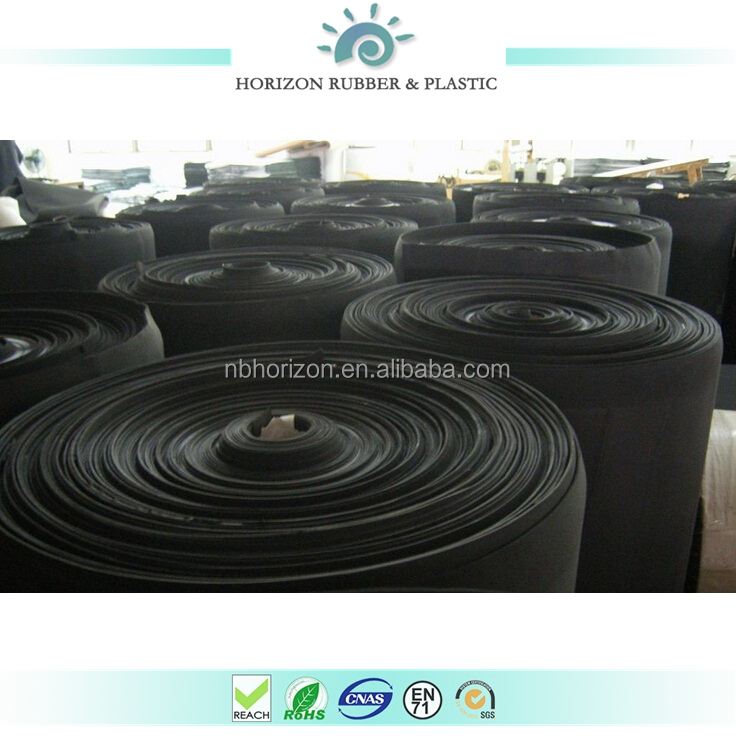 high quality black color eva/pe/tpe/cr/sbr/epdm foam sheet and roll