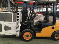 Low Price 3 Ton Fridge Clamp Japanese Engine Diesel manual mini forklift Truck