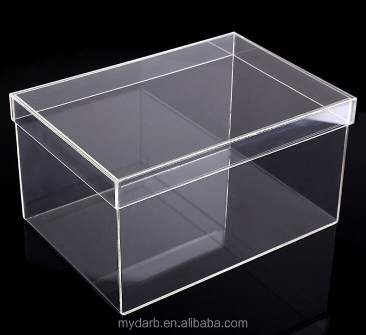 Luxury Clear Sneaker Shoe Box Clear Display Case 100% <strong>Acrylic</strong>