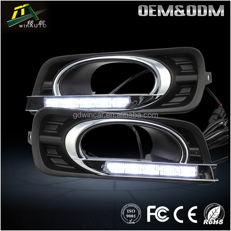 Hot selling car accessories daytime Running Light For Honda City 2012 To 2015
