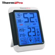 Touch Screen Design Thermopro TP55 Indoor Digital Thermometer Hygrometer
