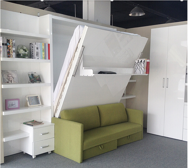 folding wall bed with sofa modern wall bed furniture