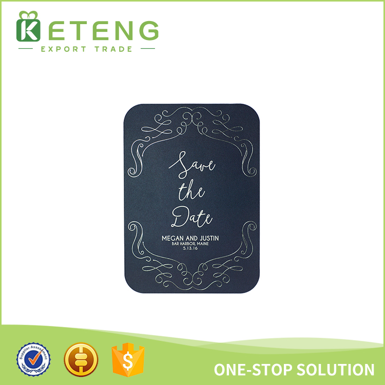 New Products Luxurious Wedding Invitation Card Printing